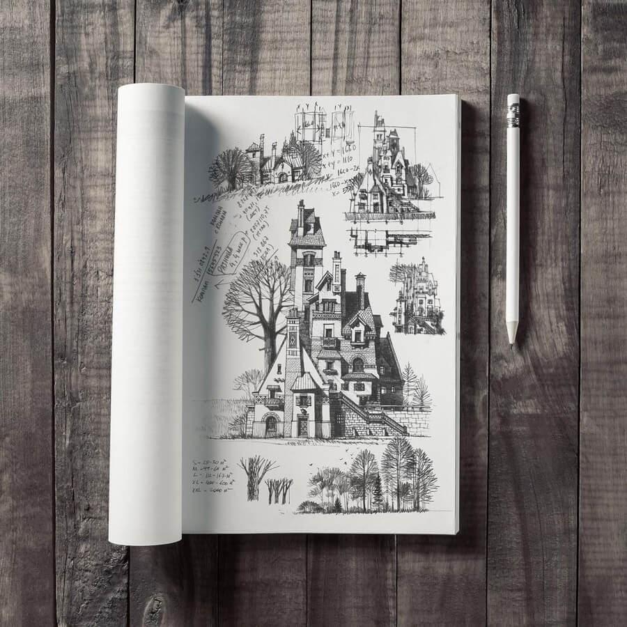 06-Architectural-drawing-study-Roman-Maklakov-www-designstack-co