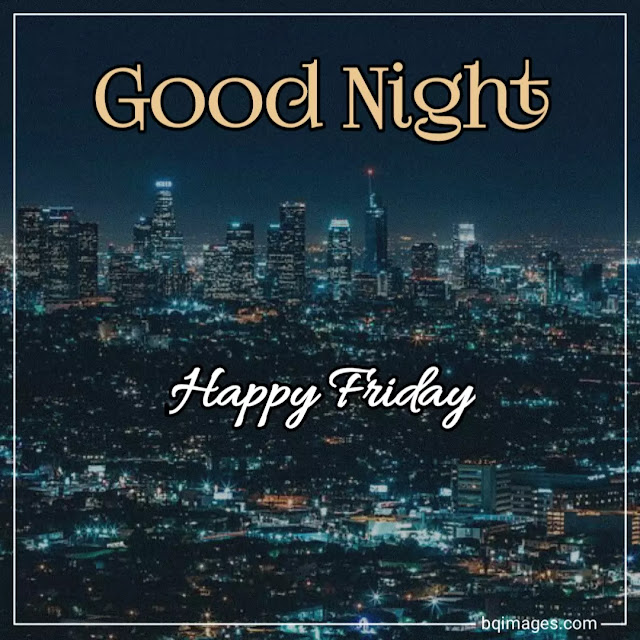 good night friday images hd