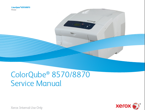 Xerox ColorQube 8570/8870 Service Manual