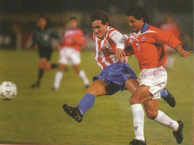 Chile y Paraguay en Copa América 1997, 11 de junio