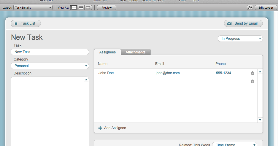 The Mac Office Tasks Filemaker Pro 12 Starter Solution