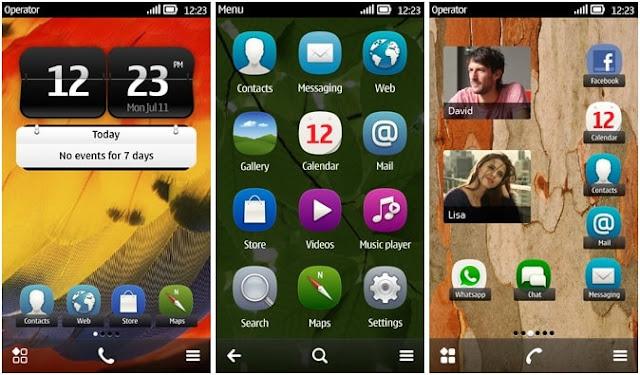 Contoh Sistem Operasi Symbian - Image by MeNDHo.com