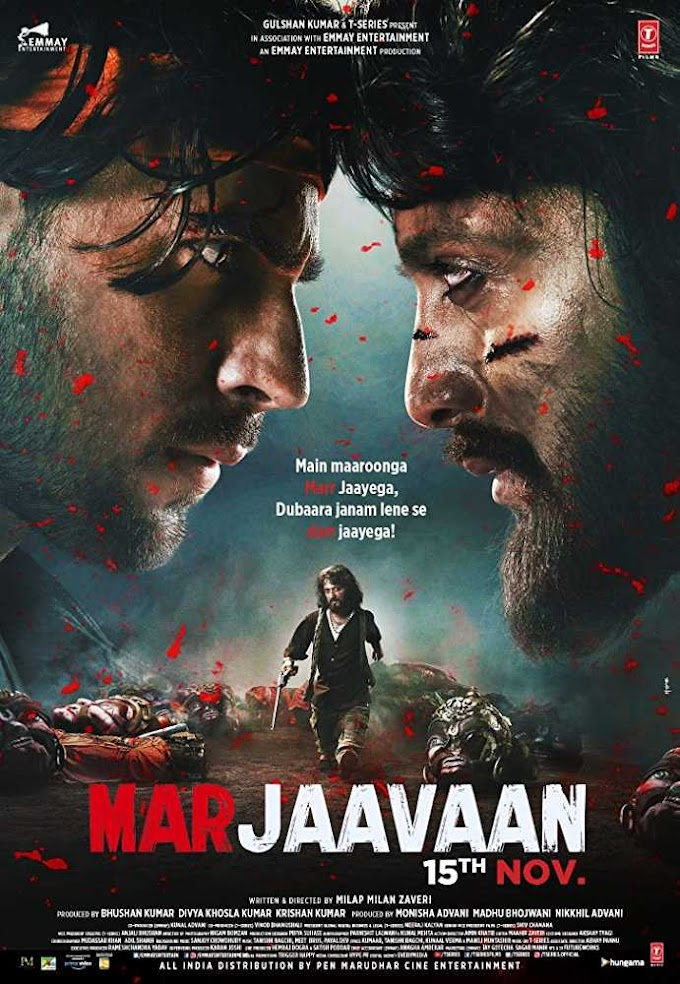 Marjaavaan (Hindi) Movie Ringtones and bgm for Mobile