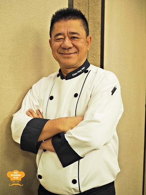 Grand Harbour Restaurant Chef Chan Peng Wah aka Big Nose Chef