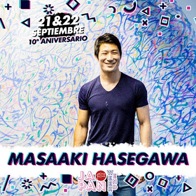 Masaaki Hasegawa invitado al Japan Weekend Madrid.