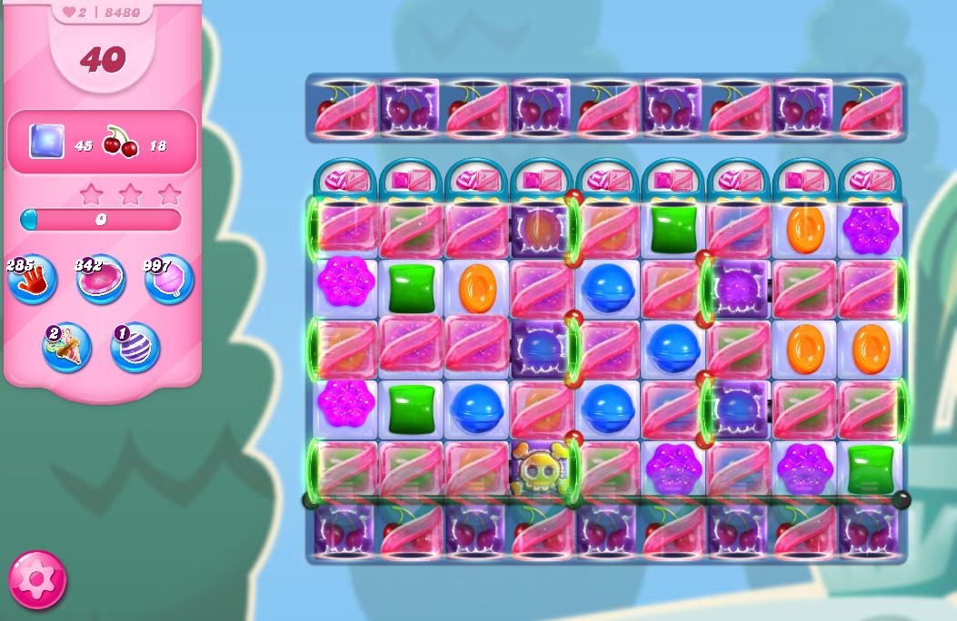 Candy Crush Saga level 8480