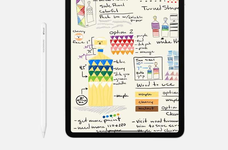 Pencil iPad Pro 2020 (apple.com)