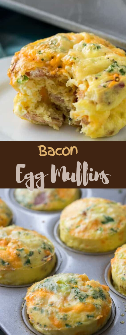 Bacon Egg Muffins (Keto) #food #lunchrecipe #vegan #vegetarianrecipe #easyrecipe