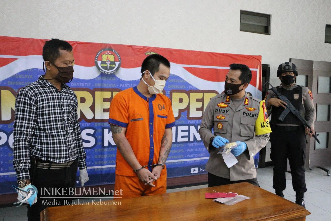 Jualan Pil Hexymer, Kuli Bangunan Asal Sempor ini Ditangkap Polisi