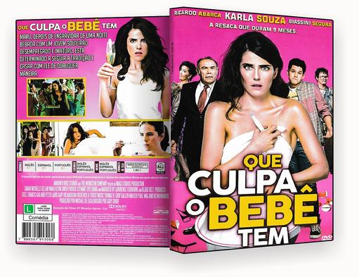 CAPA DVD – QUE CULPA O BEBE TEM DVD-R