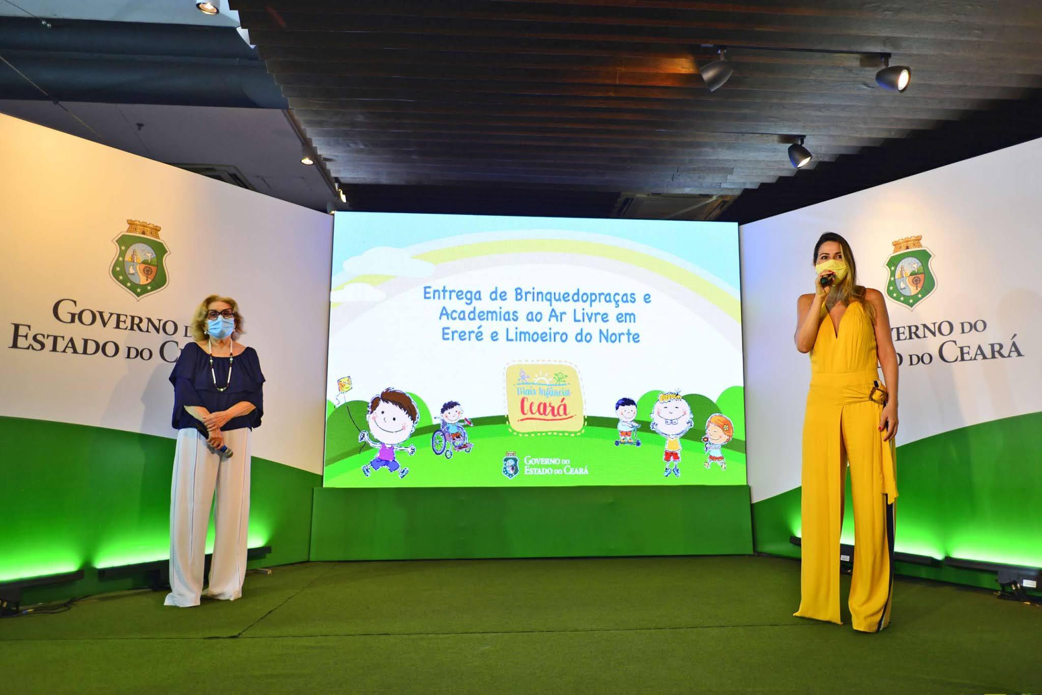 Ceará já soma 123 brinquedopraças com as entregas em Ereré e Limoeiro do Norte