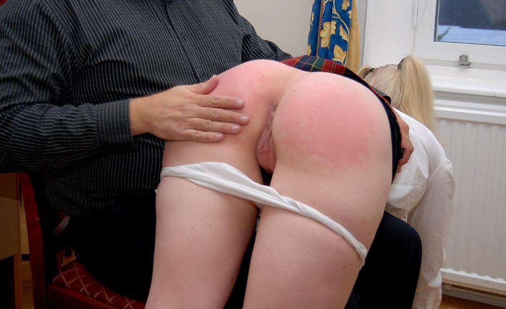 Samantha getting her nice round ass spanked porn gifs