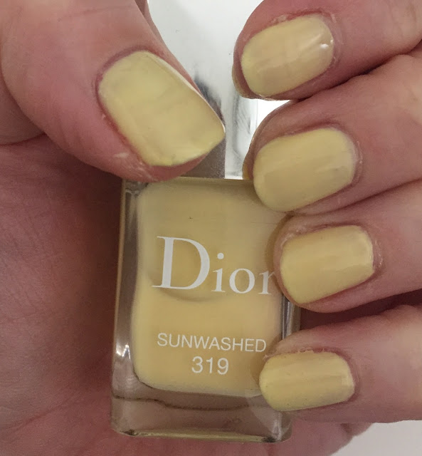 Throwback Thursday, #tbt, manicure, nails, nail polish, nail lacquer, nail varnish, Dior Sunwashed