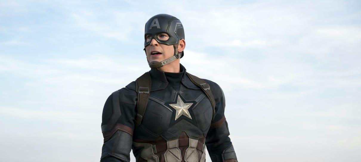 Chris Evans sente saudade de interpretar o Capitão América