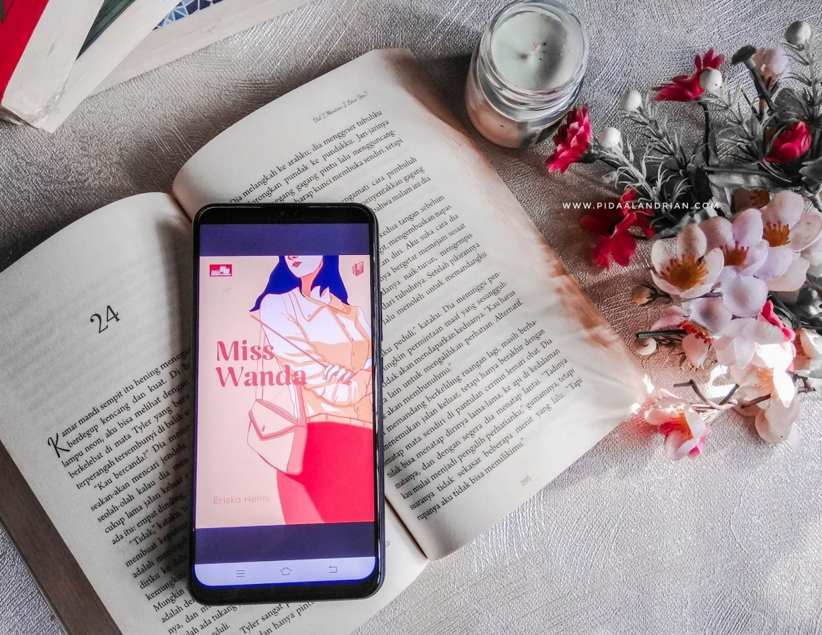 Book review Miss Wanda - Eriska Helmi