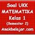 Soal UKK Matematika Kelas 1 SD semester 2