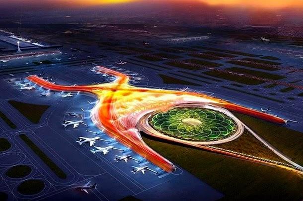 aeropurto mexico2 - Qué misterio encierra el nuevo aeropuerto de la ciudad de México, simbología demoníaca: geometría sagrada y masonería