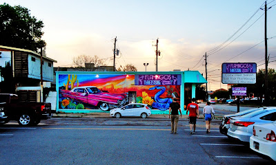 New Mural at Flamingos Thrift Store