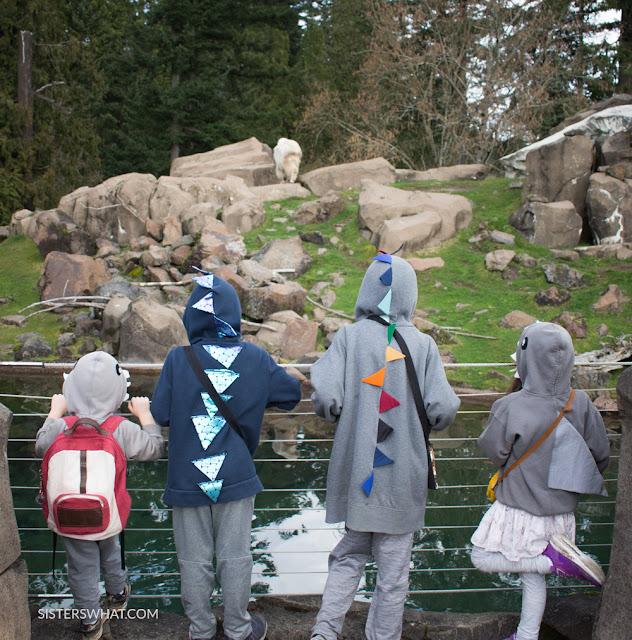 easy costume sweatshirts for kids