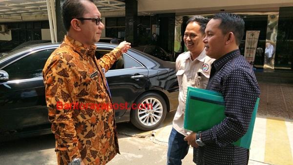 Wakil Ketua DPRD Murung Raya, Rahmanto Temui Dirjen PMD Kementerian Desa