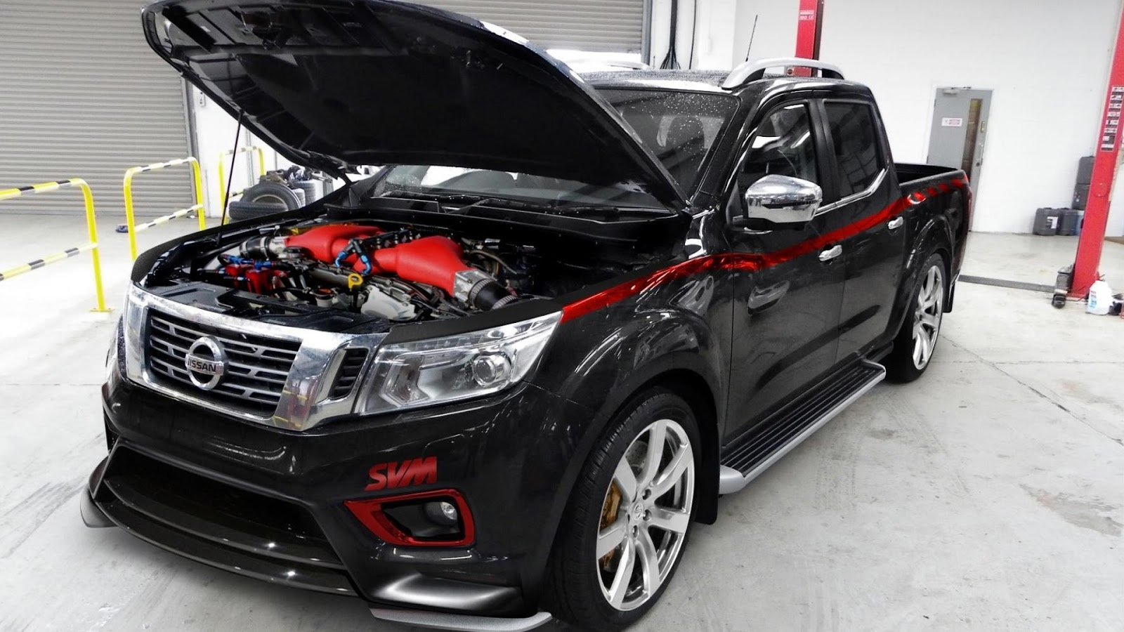 nissan navara np300severn valley motorsport ~ car tuning styling