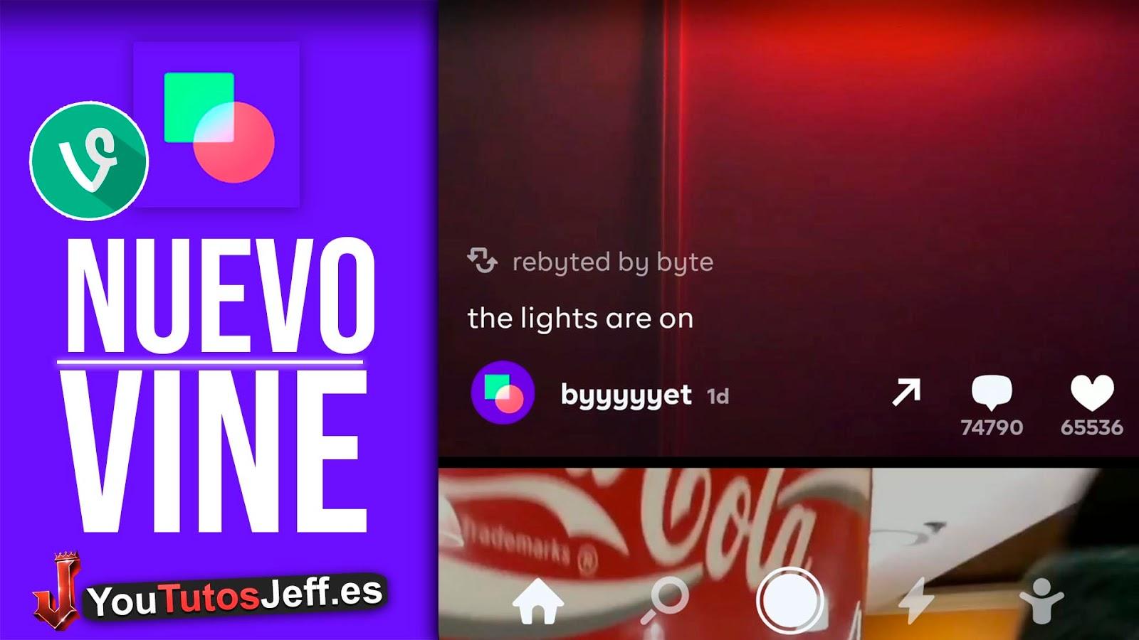 Vine Regresa, Descargar byte para Android o iOS