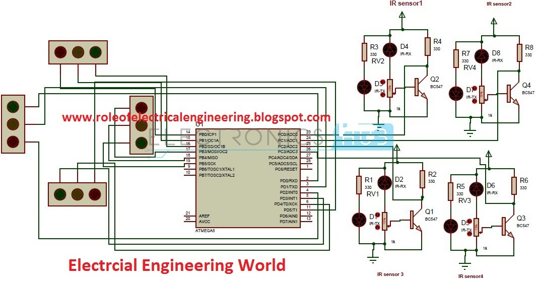 Strange Density Based Traffic Light Control System Circuit Diagram Wiring 101 Kwecapipaaccommodationcom