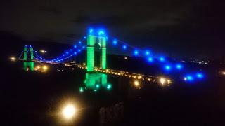 「風の吊り橋」ライトアップ<12月31日まで>