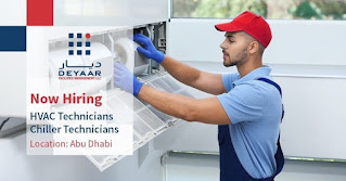 Recruitment HVAC / Chiller Technicians in Al Rowdha Healthcare Center, Abu Dhabi, UAE   Walk In Interview Sunday, 06 June 2021