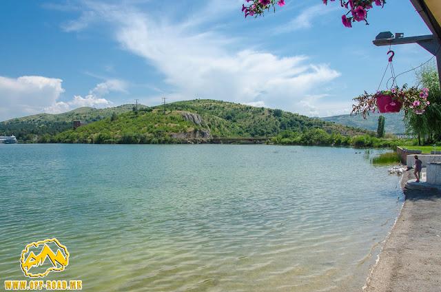Mladost Lake near Veles city, Macedonia
