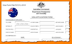 Australian Online Visa Application How Do I Get A Visa To Travel To Australia