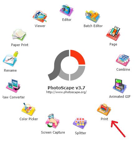 Cetak Foto Berbagai Ukuran Dengan Photoscape
