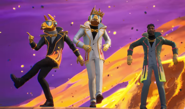 Fortnite Season 10 X trailer dancing emotes