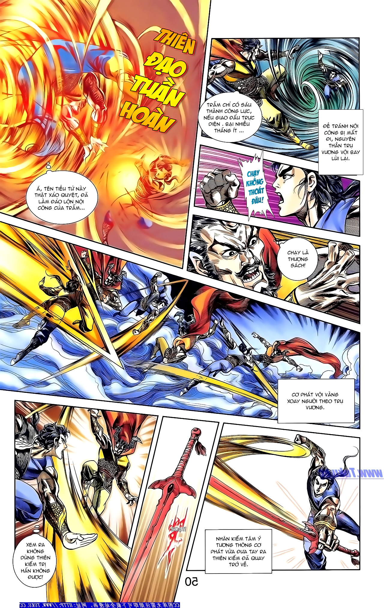 Cơ Phát Khai Chu Bản chapter 154 trang 7
