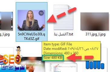 استبدال صور GIF المتحركة بمقاطع فيديو لسرعة تحميل صفحات بلوجر