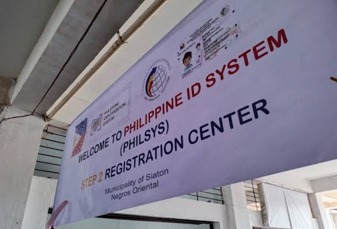 National ID, one of 4 primary ID or identification document in the Philippines