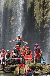 Descriptive Text: Pekalen White-Water Rafting Adventure