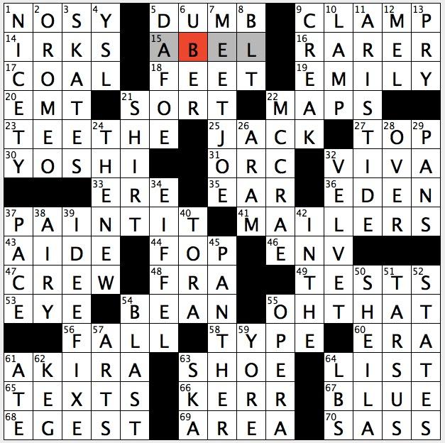 Thursday September 8 2016  sc 1 st  Rex Parker - blogger & Rex Parker Does the NYT Crossword Puzzle: Bygone Broadway critic ... 25forcollege.com