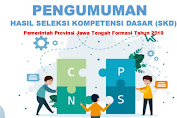 Pengumuman Hasil SKD CPNS Provinsi Jawa Tengah & Peserta yang Masuk SKB