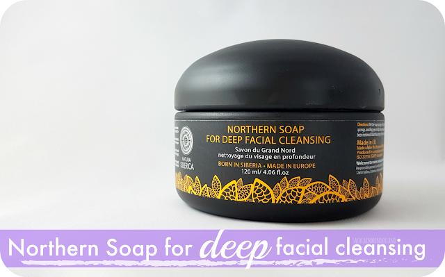 Northern Soap for Deep Facial Cleansing review for dry oily combination skin