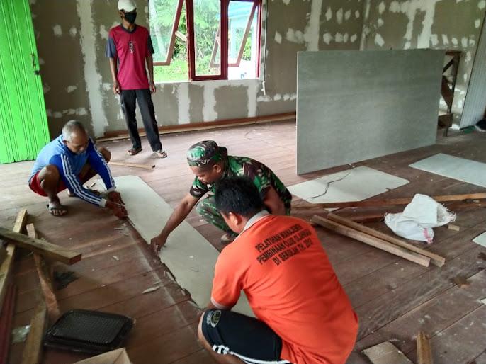 TMMD Diharapkan Membawa Dampak Besar Bagi Masyarakat Kecamatan Pulau Hanaut