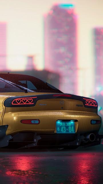 Papel de Parede Mazda RX 7