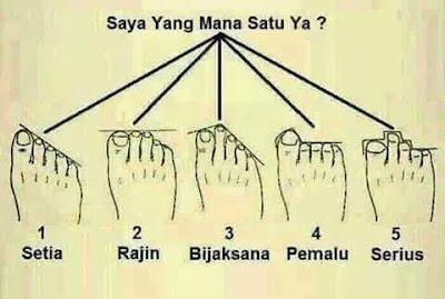 Mana Satu Pilihan Jari Kaki Anda, kaki,
