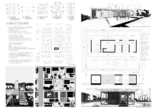 静かな中庭を持つ外に開かれたコンクリートの住まい 計画概要