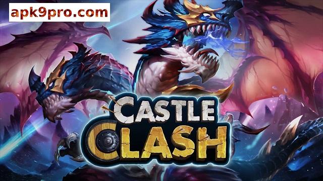 Castle Clash v1.6.11 Apk + Mod/Hack + Data (File size 485 MB) for android