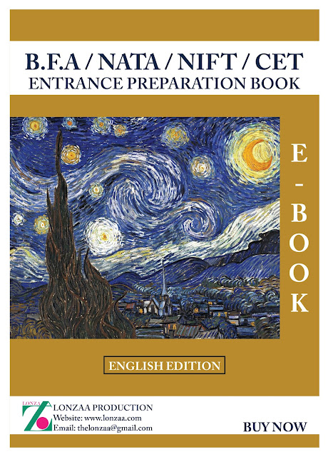 Entrances Preparation Book for MFA/BFA, NATA, NIFT, CET, with Answers in English. This Theory E – Book Best Entrances Preparation for B.F.A Bachelors of Fine Arts and MFA Master of Fine Art for Delhi College of Art, Jamia Millia Isalmia art Facaulty, J.J College of Art, Chandigarh College of Art, MDU Rohtak ,BHU, NIFT, PEARL, NID & NATA. This E- book very Helpful in theory Entrance Preparation for Paintings Entrance, Applied Art Entrance, Sculpture Entrance, Visual Art Entrance, Print Making Entrance, Art History Entrance, Art Education Entrance Etc. For Fine Art Colleges This English Edition Book is Base on Mixture of Previous test Paper. It's easy and Rapidly Learning Book. In this 470 Pure Answers with Questions. for General Knowledge, Current Affair, Social Affair, Historical and Art Related. Lonzaa Production Website: - www.lonzaa.com Email: - thelonzaa@gmail.com Facebook: - @lonzaproduction Youtube:- Lonzaa Instagram: - lonza.a