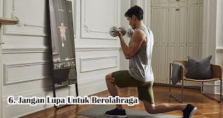 Jangan Lupa Untuk Berolahraga Agar Tidak Gemuk Selama WFH