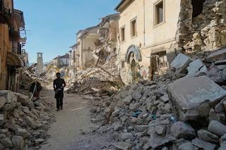 Lazio ieri e oggi dopo il terremoto