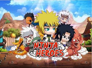 Download Ninja Heroes Apk v1.1.0 ( Mega MOD+GOLD )