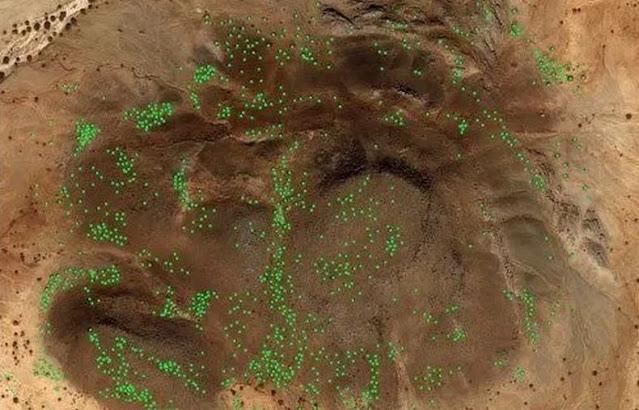 Arkeolog Dikejutkan Temuan Belasan Ribu Makam Muslim Berbentuk Formasi Galaksi